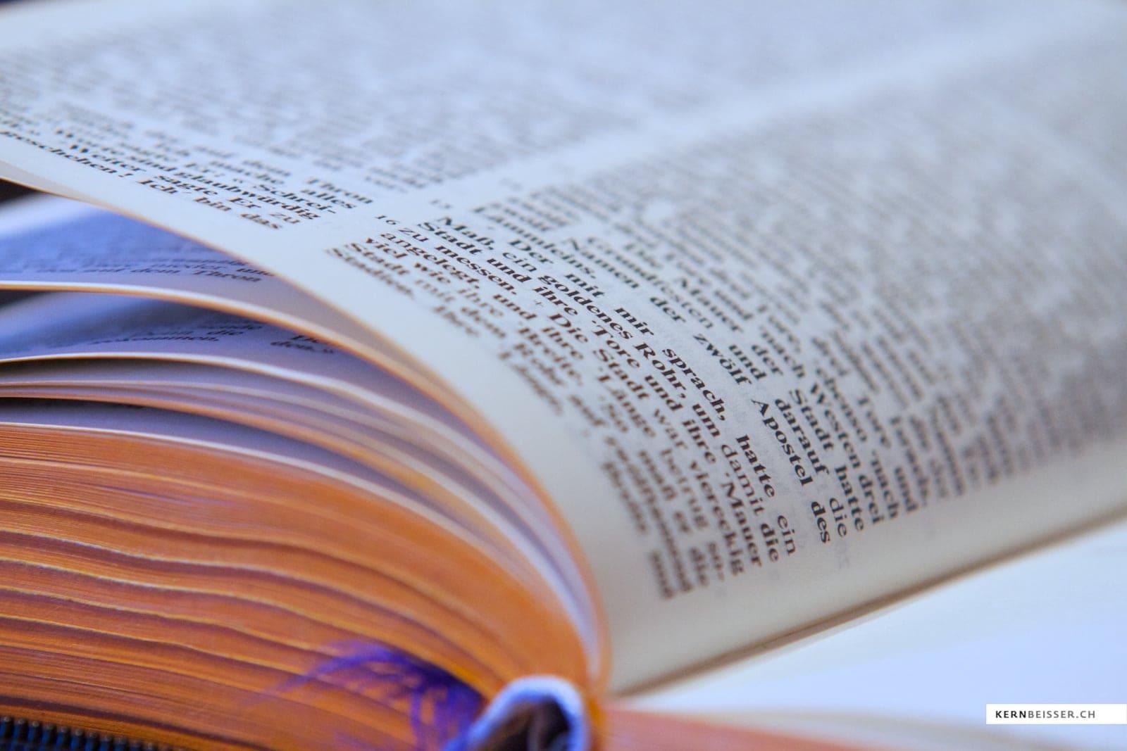 Ist die Bibel die Antwort auf alle Fragen?