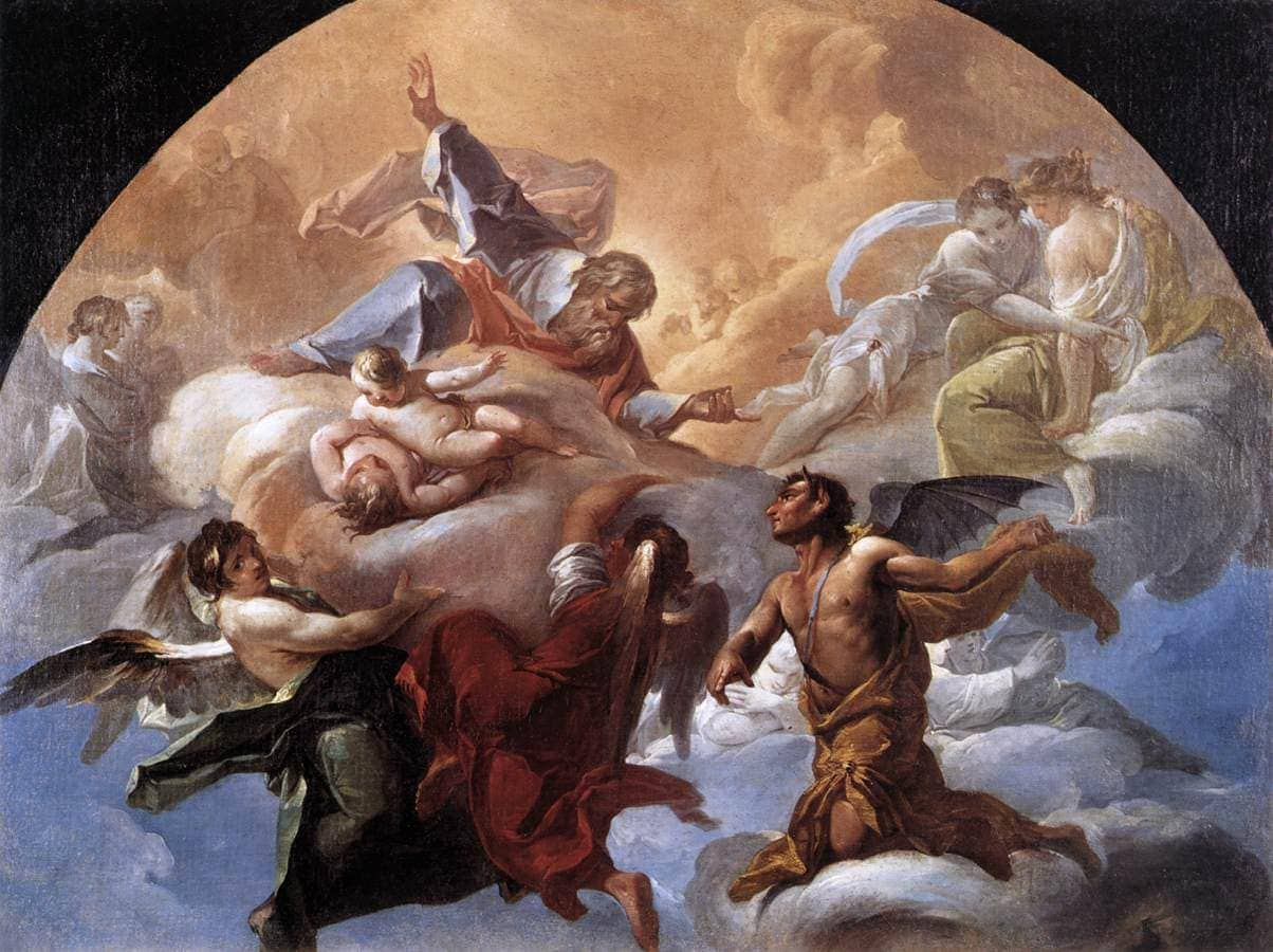 Gemälde von Corrado Giaquinto, rund 1750