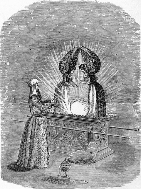 The Ark and the Mercy Seat, illustration in