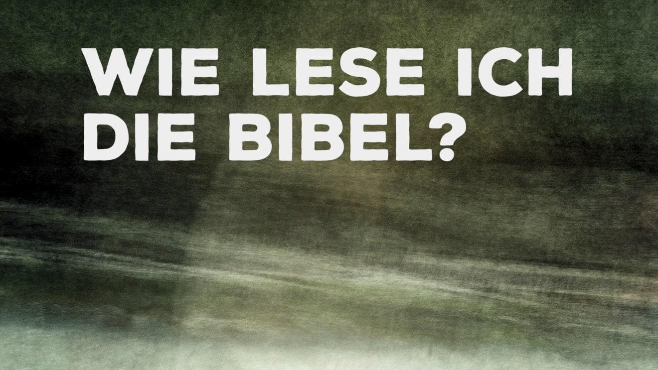 Bibelkurs: Wie lese ich die Bibel?